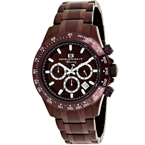 Oceanaut Men's Biarritz Brown Dial Watch - OC6116 - Product Image