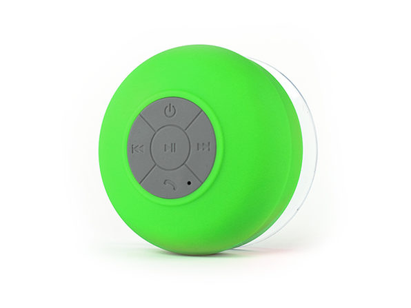 FresheTech Splash Tunes Bluetooth Shower Speaker (Green)