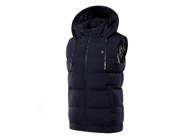 Thermal Waterproof Heated Hooded Vest