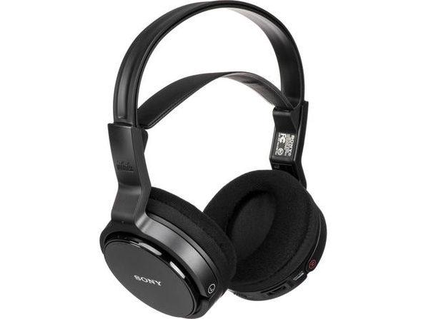 Sony MDR-RF912RK Over-Ear Wireless Headphones Black (Open Box - Like New)