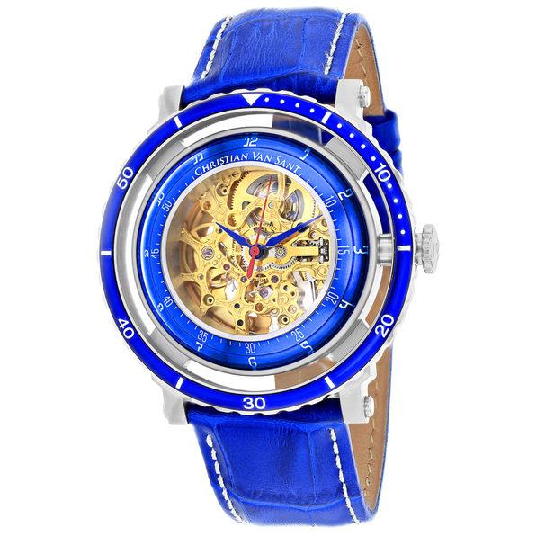 Christian Van Sant Men's Dome Gold Dial Watch - CV0740