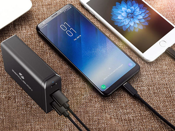 ZeroLemon 75W Dual USB-C PD 4-Port Desktop Charger