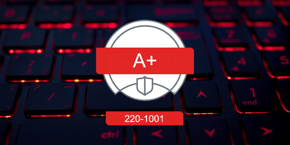 CompTIA A+ Certification Core 1 (220-1001) - Product Image
