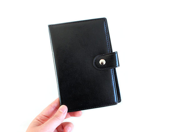 Passport Wallet with RFID Lock