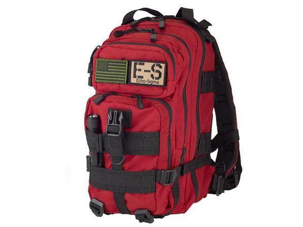 Get Home Bag: 72-Hr Emergency Gear with KN95 Mask (Red)
