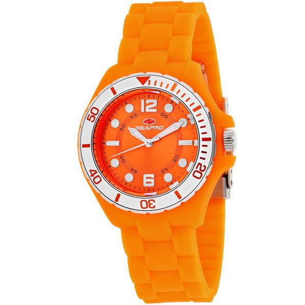 Seapro Women's Spring Orange Dial Watch - SP3218