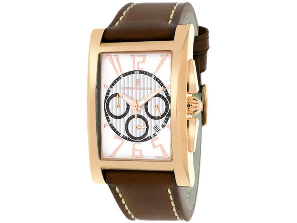 Christian Van Sant Men's Cannes White Dial Watch - CV4515 - Product Image