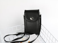 Mini Cross body Purse - Black - Product Image
