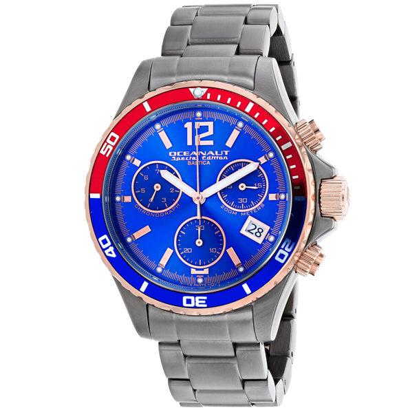 Oceanaut Men's Baltica Special Edition Blue Dial Watch - OC0533