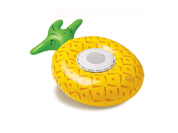 Inflatable Floating Waterproof Bluetooth Speaker - Pineapple - Product Image