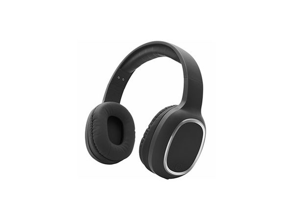 Zunammy Bluetooth Over-Ear Headphones with Comfort Pads - Black - Product Image