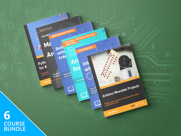 Become an Internet of Things Wizard with More Than 47 Hours of Content Covering Arduino Projects