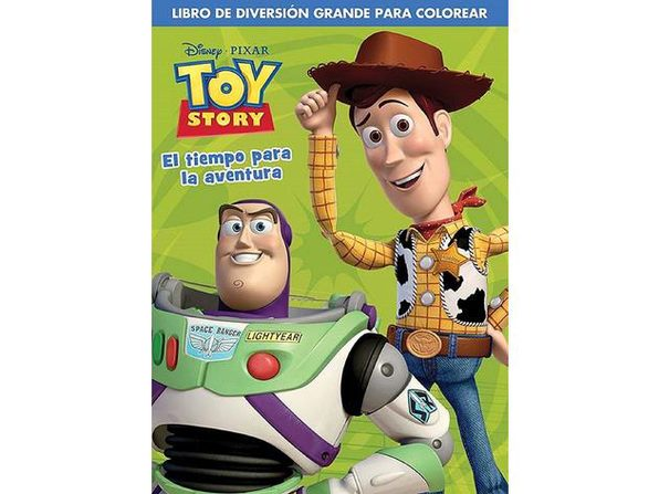 Toy Story Spanish 96 Pg. Coloring Book -