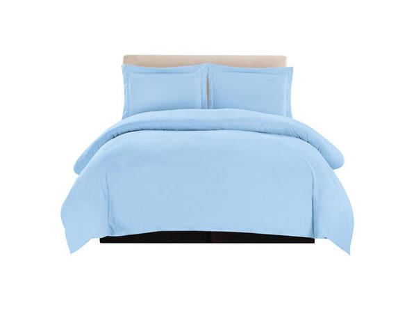 Lux Decor Collection 3-Piece Duvet Set Blue - Queen - Product Image