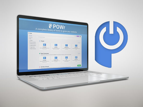 POWr Website Plugins Starter Plan: Lifetime Subscription