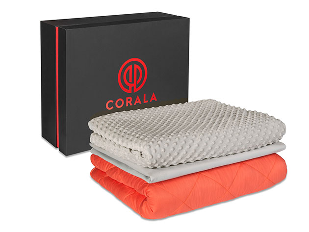 Corala Premium Weighted Blanket + 2 Covers