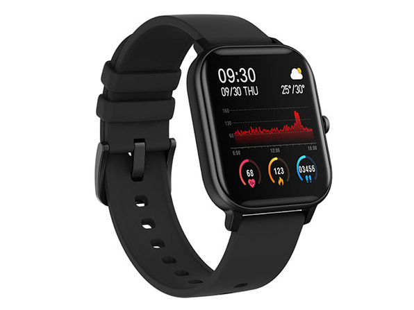 Metallic Smart Watch with Health & Activity Tracker