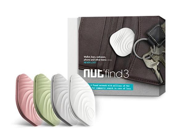 Nut Find 3 Smart Tracker Set of 4