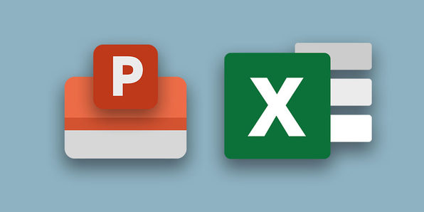 PowerPoint And Excel Fusion - Product Image