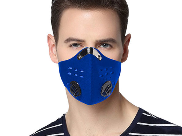 Reusable Dust-Proof Mask with 5 Filters (4 Pack)