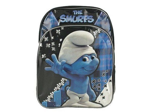 Backpack - Smurfs - Large 16 Inch - Blue