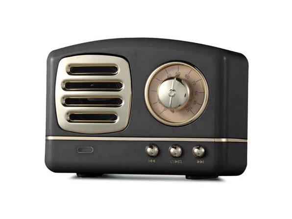 Retro Bluetooth Speakers- Black - Product Image