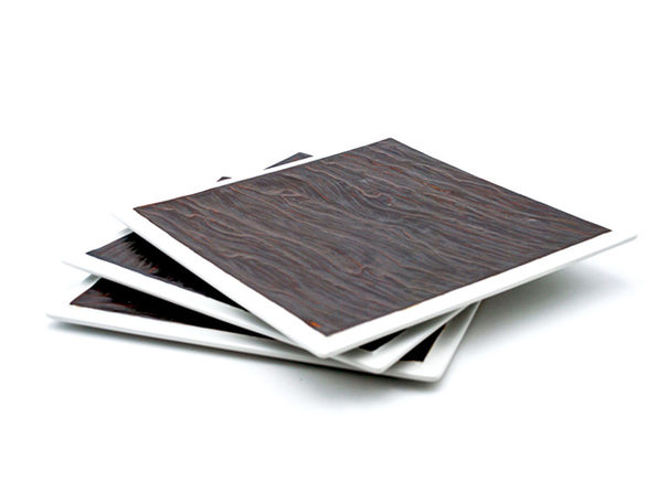 """Tuxton Home Kona Lava Plate 3-Pc Set (10"""" Square)"""