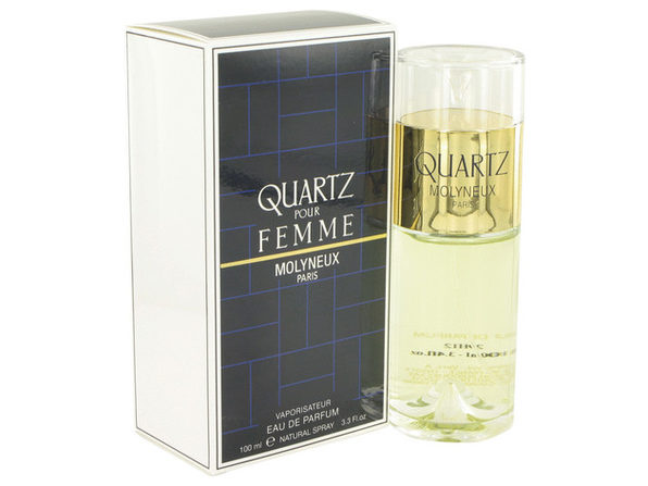 QUARTZ Eau De Parfum Spray 3.4 oz For Women 100% authentic perfect as a gift or just everyday use - Product Image