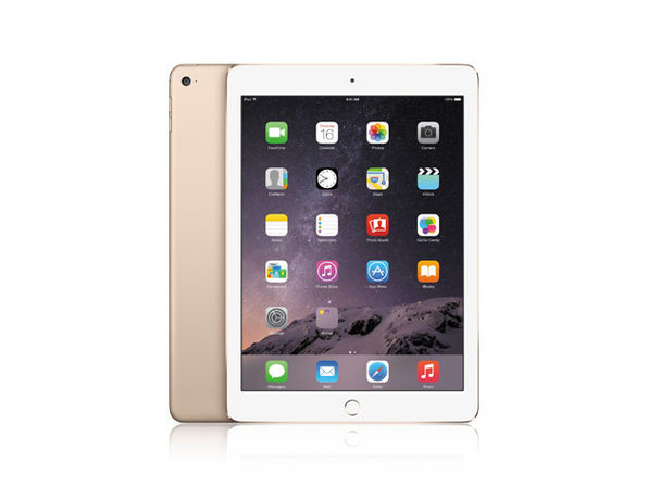 "Apple iPad Air 2 9.7"" 64 GB WiFi Gold (Certified Refurbished)"