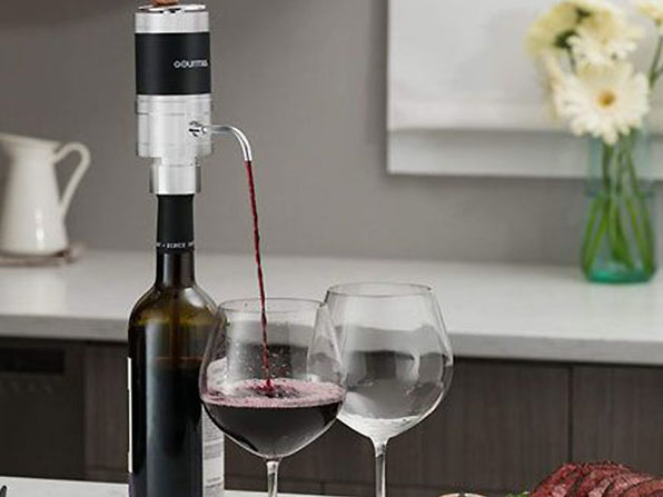 Gourmia® GWA9985 Electric Wine Aerator & Dispenser