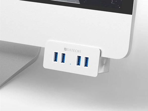 Many USB Devices, Few Ports? Clamp on 4 Additional USB 3.0 Ports, Make Life Simpler.