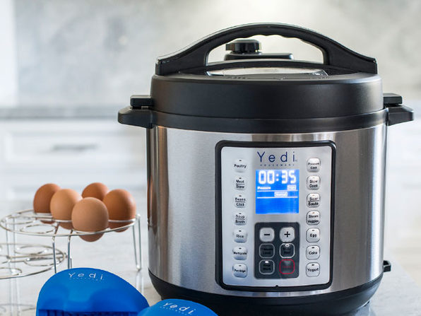 Yedi 9-in-1 Total Package Instant Programmable 6 QT Pressure Cooker