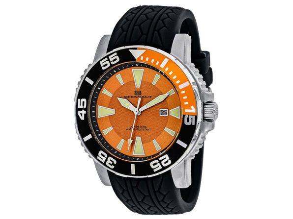 Oceanaut Men's Orange Dial Watch - OC2915