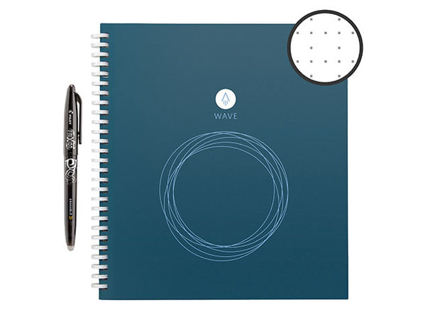 Rocketbook Wave Standard Smart Notebook with Pen Station