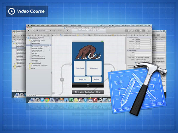 Xcode Fundamentals: Designing a User Experience for iOS - Product Image