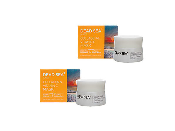 Dead Sea+: Collagen & Vitamin C Mask - 2 pack - Product Image