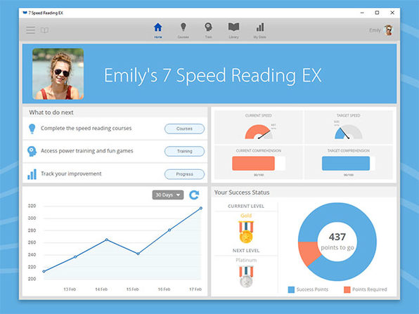Speed Reading EX & Spreeder CX Software