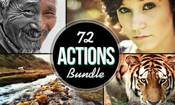 The Photography Actions Bundle - Product Image