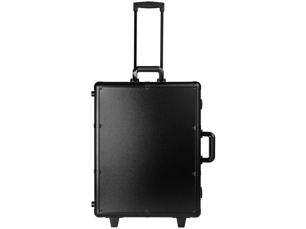 SHANY Studio ToGo Wheeled Trolley Makeup Case & Organizer with Light - BLACK for $399 4