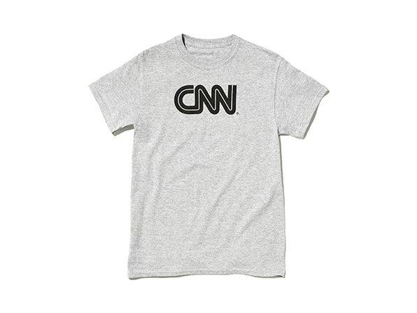 CNN Promo Tee  Ash M