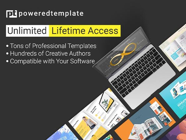 PoweredTemplate Unlimited Plan Lifetime Subscription - Product Image