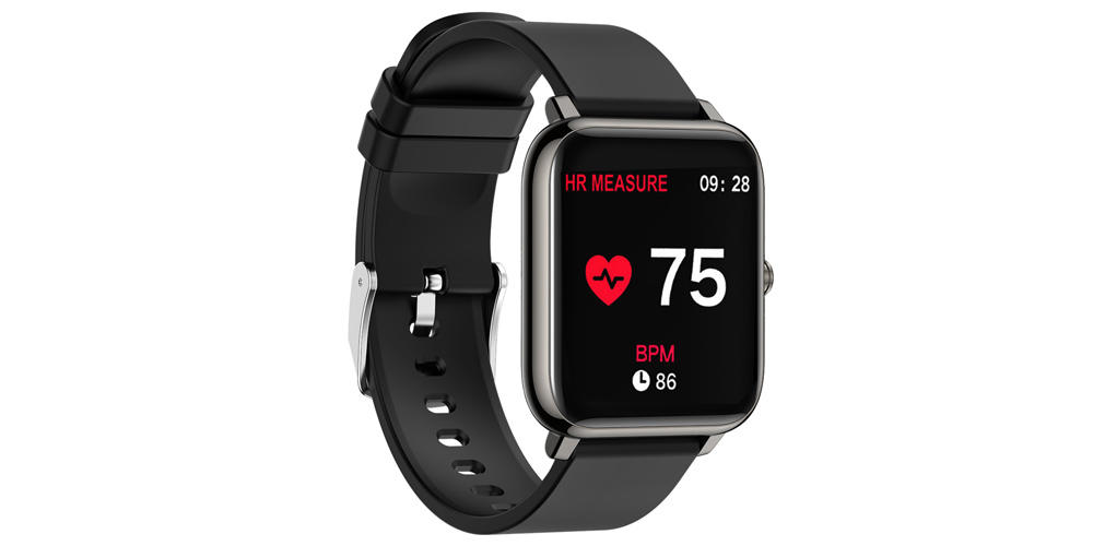 OXITEMP Smart Watch with Live Oximeter, on sale for $49.95 (70% off)