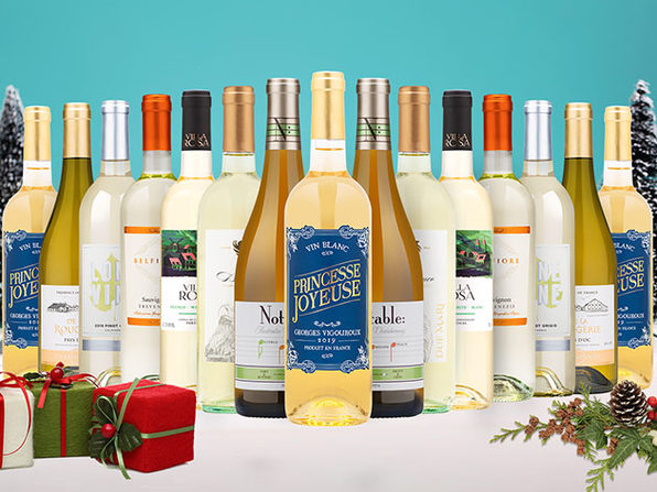 12 bottles of White Wines from Wine Insiders for only $79! - Product Image