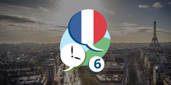 3 Minute French - Course 6: Language Lessons for Beginners - Product Image