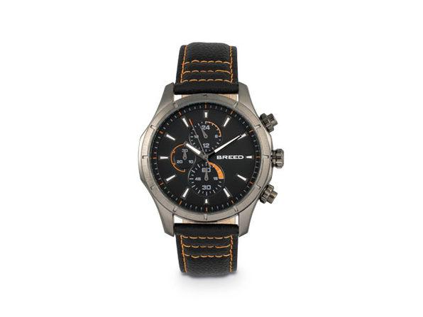 Breed Lacroix Chronograph Watch (Black/Gunmetal)