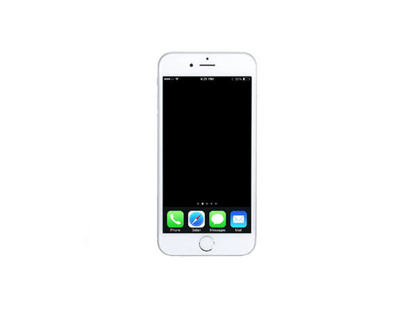 Refurbished iPhone 6 16 GB Silver GSM- Fair Condition - Product Image