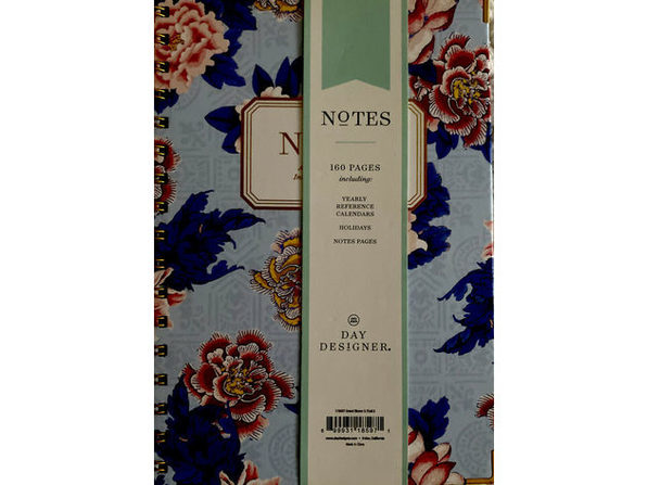 Day Designer Floral Design Smart  Journal for Intentional Notes Taking 160 Ruled Pages, Hardcover