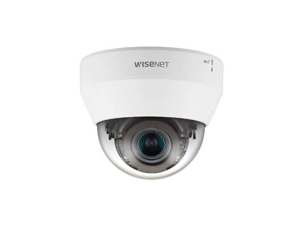 WISENET Q NETWORK INDOOR DOME CAMERA 2MP @ 30FPS MOTORIZED VARI-FOCAL LENS
