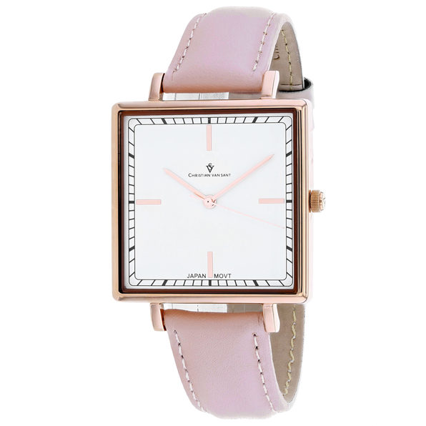 Christian Van Sant Women's Callista White Dial Watch - CV0414
