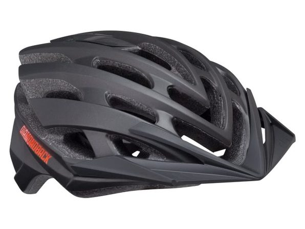 Diamondback Podium Bike Helmet Mountain, Medium - Black